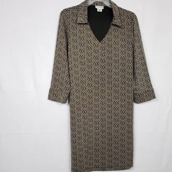 Motherhood Maternity Dresses & Skirts - Motherhood Maternity 3/4 Sleeve Shift Dress Sz Lg